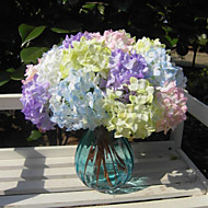 Mini Holding Flowers Simulation Hydrangea for wedding