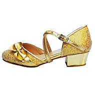 Sapatos de Dança ( Rosa / Vermelho / Prateado / Dourado ) - Feminino / Infantil - Não Personalizável - Latina