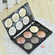 New LOVE ALPHA® 6 Eyeshadow Dry Eyeshadow Palette Powder Normal 1Pc