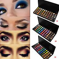 55 Colors Paleta očních stínů Matné / Třpyt Oční stíny paleta pudr Sada Dumanlı Makyaj / Parti Makyajı / Cadıla Bayramı Makyajı