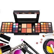 52 Colors Paleta de Sombras Secos / Mate Paleta da sombra Pó Pressionado ConjuntoMaquiagem para o Dia A Dia / Maquiagem Esfumada /