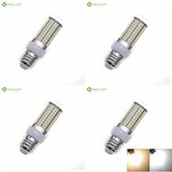 15W E14 / G9 / GU10 / B22 / E26 / E26/E27 Lâmpadas Espiga Encaixe Embutido 180 SMD 2835 1200-1500 lm Branco Quente / Branco Natural