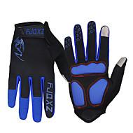 FJQXZ® כפפות ספורט/ פעילות לנשים / לגברים כפפות רכיבה סתיו / חורף כפפות אופנייםשמור על חום הגוף / נגד החלקה / חסין זעזועים / עמיד בפני