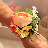 Wedding / Party Flowers Beautiful Round Roses Wrist Corsages