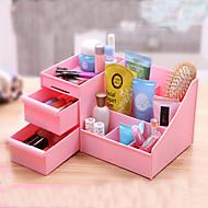 Women Makeup Case Plastic Drawer Household Category Storage Box Cosmetic Desktop