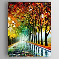 Pintados à mão Paisagens AbstratasModern 1 Painel Tela Hang-painted pintura a óleo For Decoração para casa