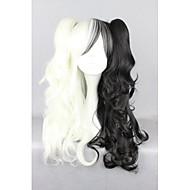 Lolita Wigs Sweet Lolita Lolita Long Black Lolita Wig 70 CM Cosplay Wigs Color Block Wig For Women