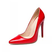 Women's Shoes Synthetic / Leatherette Stiletto Heel Heels / Basic Pump / Pointed Toe Heels Wedding / Office & Career