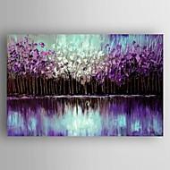 Ручная роспись Абстрактные пейзажиModern 1 панель Холст Hang-роспись маслом For Украшение дома