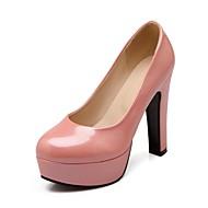 Sko - Kunstlær - Stiletthæl - Hæler / Spiss tå - høye hæler - Fritid - Svart / Blå / Rosa / Lilla