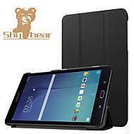Samsung Galaxy Tab w e 8.0 t377v luksusowe ultra cienkie pu przypadku stoiska skóra, skóra PU pokrywy ochronnej powłoki