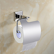 """Sada koupelnových doplňků / Držák na toaletní papír Zrcadlově leštěné Na ze´d W15.9cm xL9cm xH14cm(W6"""" xL4"""" xH6"""") Nerez Moderní"""