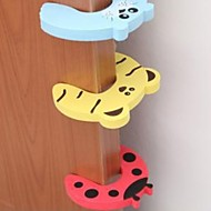 Tür Sicherheits-Tür-Karte carmen Kinder Cartoon Baby Türstopper Türschelle Prise Hand Sicherheitskarte (zufällige Farbe) Datei