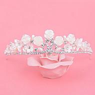 Femme Strass / Alliage / Imitation de perle Casque-Mariage / Occasion spéciale Tiare 1 Pièce