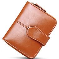 Damen Unterarmtasche Brieftasche Bankkarten & Ausweis Tasche Geldbörse Visitenkartenhalter Kuhfell GanzjährigHochzeit Veranstaltung /