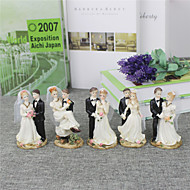 Figurine ( Schwarz , Harz ) - Nicht-personalisierte - Hochzeit / Jubliläum / Brautparty