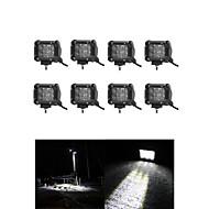 8x 30w levou luz de trabalho bar offroad 12v 24v ATV inundação offroad para UTV 4x4