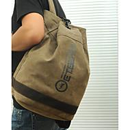 Men Women Canvas Backpack School Laptop Bag