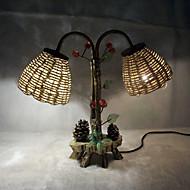 Schreibtischlampen - LED - Modern/Zeitgemäß / Traditionel/Klassisch / Rustikal/Ländlich / Neuheit - Holz/Bambus