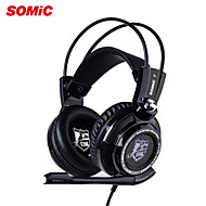 Somic G941 champion  Noise Cancelling Deep Bass 7.1 Surroud USB Vibration LED Professional Gaming Computer Headset