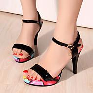 Women's Shoes Heel Heels / Peep Toe / Platform Sandals / Heels Party & Evening / Dress / Casual Black / White