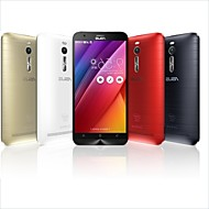 "Asus ASUS ZenFone 2 5.5 "" 5.0 Android טלפון חכם 4G ( SIM כפול Quad Core 13 MP 4GB + 16 GB מוזהב / אדום / כסף )"