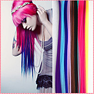 Long Synthetic Straight And Clip in Hair Extensions with 1 Clips 14 Color