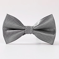 Hrášek - Motýlek ( Stříbrná , Polyester )