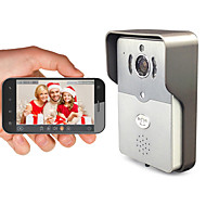 Besteye® DBV01P Smart Wifi Video Doorbell HD720P IR Night Audio Wireless Camera for Smart Phone Pad