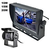 "RenEPai® 7""Color TFT LCD Screen Car Rear View Backup Parking Mirror Monitor + Night Vision Camera Car Security Tool Kit"