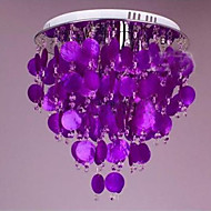 Warm Crystal Ceiling Lamp Shell LED