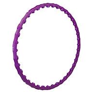 I CARE® 8 Pieces Knocked Down Massage Hula Hoop Purple