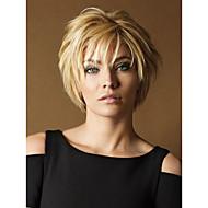 perucas retas venda quente cor loira de qualidade superior sintética