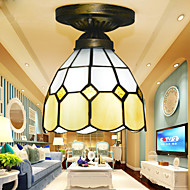 20*15CM Tiffany'S Mediterranean Contracted Absorb Dome Light Creative Bedroom Absorb Dome Light LED Lamp