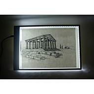 a3 ultradunne geleid tracing pad tattoo lichtbak stencil boord lichttafel
