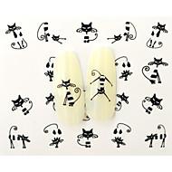 -Finger / Zehe-3D Nails Nagelaufkleber-Andere-10pcsStück -6.5*5.2cm