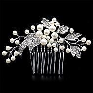 새로운 머리 빗질 한국어 진주 다이아몬드 티아라는 유럽과 미국의 패션 보석 화 포리