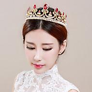 Vrouwen / Bloemenmeisje Bergkristal / Licht Metaal Helm-Bruiloft / Speciale gelegenheden Tiara's 1 Stuk