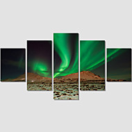 Canvas Print Arts Painting Abstract Sky For Living Room Wall Picture Home Decoration Unframed Set Of 5