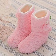 Girl's Slippers & Flip-Flops Winter Snow Boots Fur Outdoor Casual Blue Yellow Pink