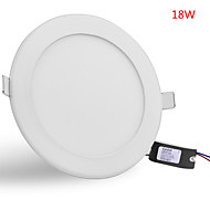 18W 1600LM Round Ceiling Lamp LED Panel Lights LED Recessed Downlight(85-265V)