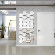 DIY Mirror Wall Six Angle Frame   4*4.6cm