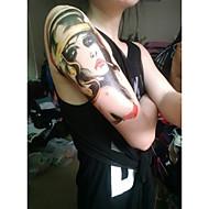 resistente al agua tatuajes temporales gran brazo pegatinas transferencia falso tatuaje del tatuaje atractivo