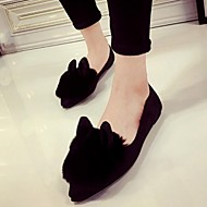 Women's Shoes  Flat Heel Ballerina / Pointed Toe Flats Outdoor / Casual Black / Gray