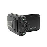"2.0"" LCD 5.0 MP Wide Angle 4X 1080P Zoom Digital Car DVR Camcorder  Mini USB HDMI TF Card - Black"