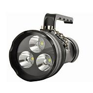 תאורה פנסים ותאורה לאוהל LED 10800 Lumens 4 מצב T6 XM-L2 קריס 18650 עמיד למים רב שימושי סגסוגת אלומניום
