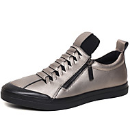 Running Shoes Men's Shoes Office & Career/Party & Evening/Athletic / Dress / Casual Nappa Leather Athletic Shoes Black/Red/Silver