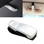 ZIQIAO Car Visor Glasses Sunglasses Ticket Clip Holder