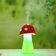 thuis aroma multifunctionele lampen geleid met air diffuser luchtreiniger luchtbevochtiger mooie paddestoel nachtlampje (assorti kleur)
