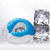 Brand Summer Cool U Shape Pillow Ice Design Pillow Nap Travel Flight Pillows U Shape Neck Rest Pillows 31*30*10cm